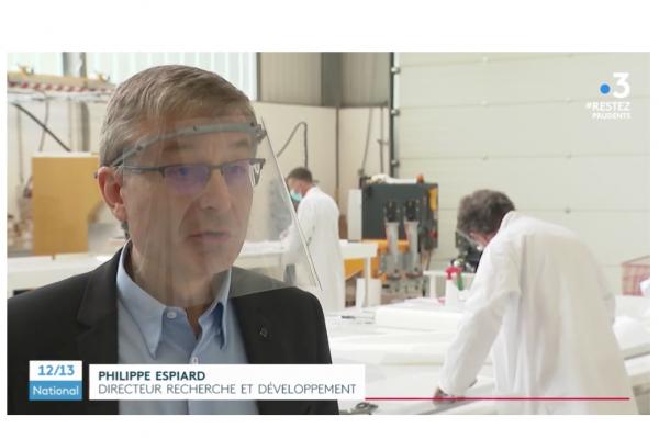 Covid-19 : un tissu qui élimine 99% des coronavirus breveté par des Français