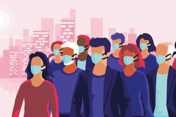 Une étude dit-elle vraiment que le port du masque est inefficace?