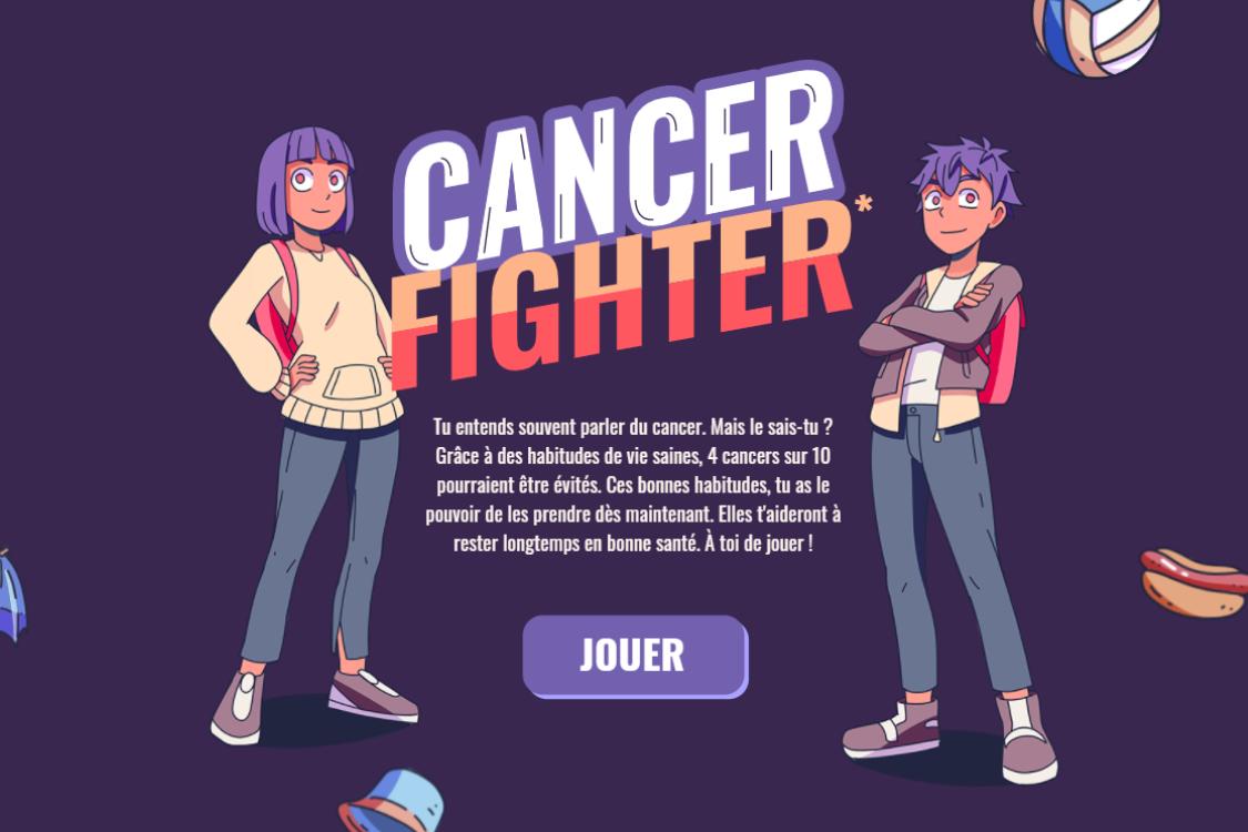 Cancer Fighter : un jeu vidéo sur la prévention des cancers pour les enfants