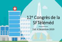 Congrès européen de la Société Française de Télémédecine (3 et 4 décembre 2019)