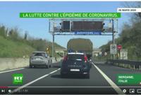 Des médecins russes arrivent en Italie pour aider à lutter contre le Covid-19