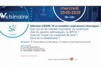 Replay webinar : Infection COVID-19 et maladies respiratoires chroniques