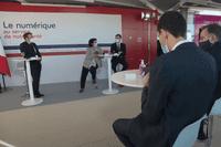 Inauguration du campus de santé numérique au Val-de-Grâce : échanges avec des chercheurs à l'Institut Imagine