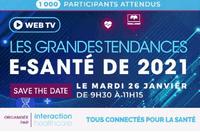 Événement le 26/02/2021 : Les grandes tendances e-santé de 2021