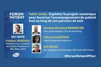 Forum Patient Pfizer : le progrès numérique pour optimiser le parcours de soin