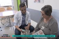 France 5 - Suivre plus facilement vos patients insuffisants cardiaques