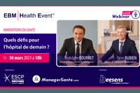 """REPLAY - Yann BUBIEN & Rodolphe BOURRET,  """"Innovations en Santé : Quels défis pour l'hôpital de demain ?"""""""