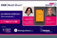"""REPLAY WEBINAR - Corinne ISNARD BAGNIS et Olivier BABINET """"Déserts médicaux, tous concernés ?"""""""