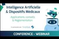 Webinar - IA et Dispositifs Médicaux : applications, bonnes pratiques et réglementation