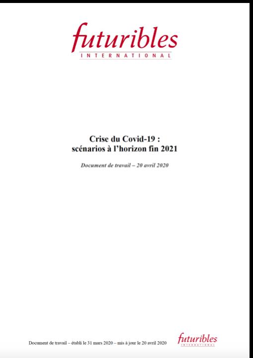 Crise du Covid-19 : scénarios à l'horizon fin 2021