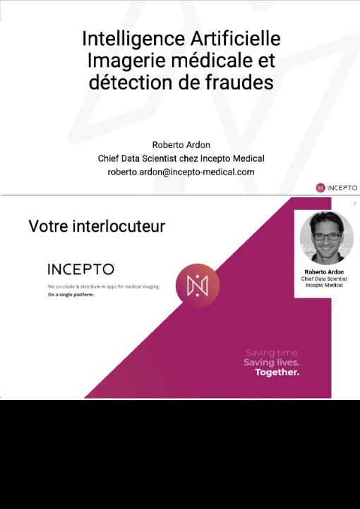 Intelligence Artificielle Imagerie médicale et détection de fraudes