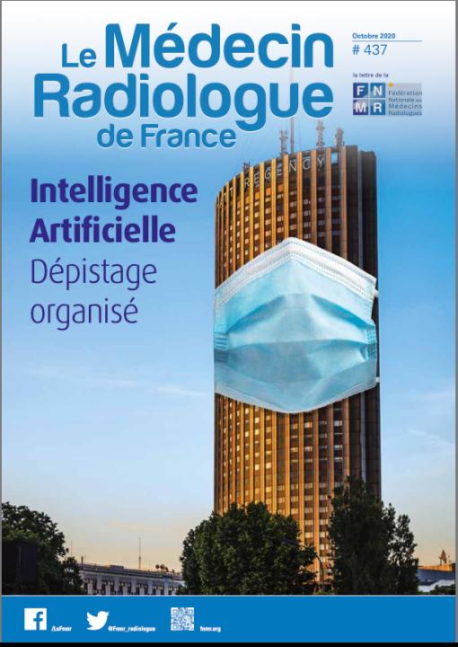 Le médecin Radiologue de France, Intelligence Artificielle dépistage organisé