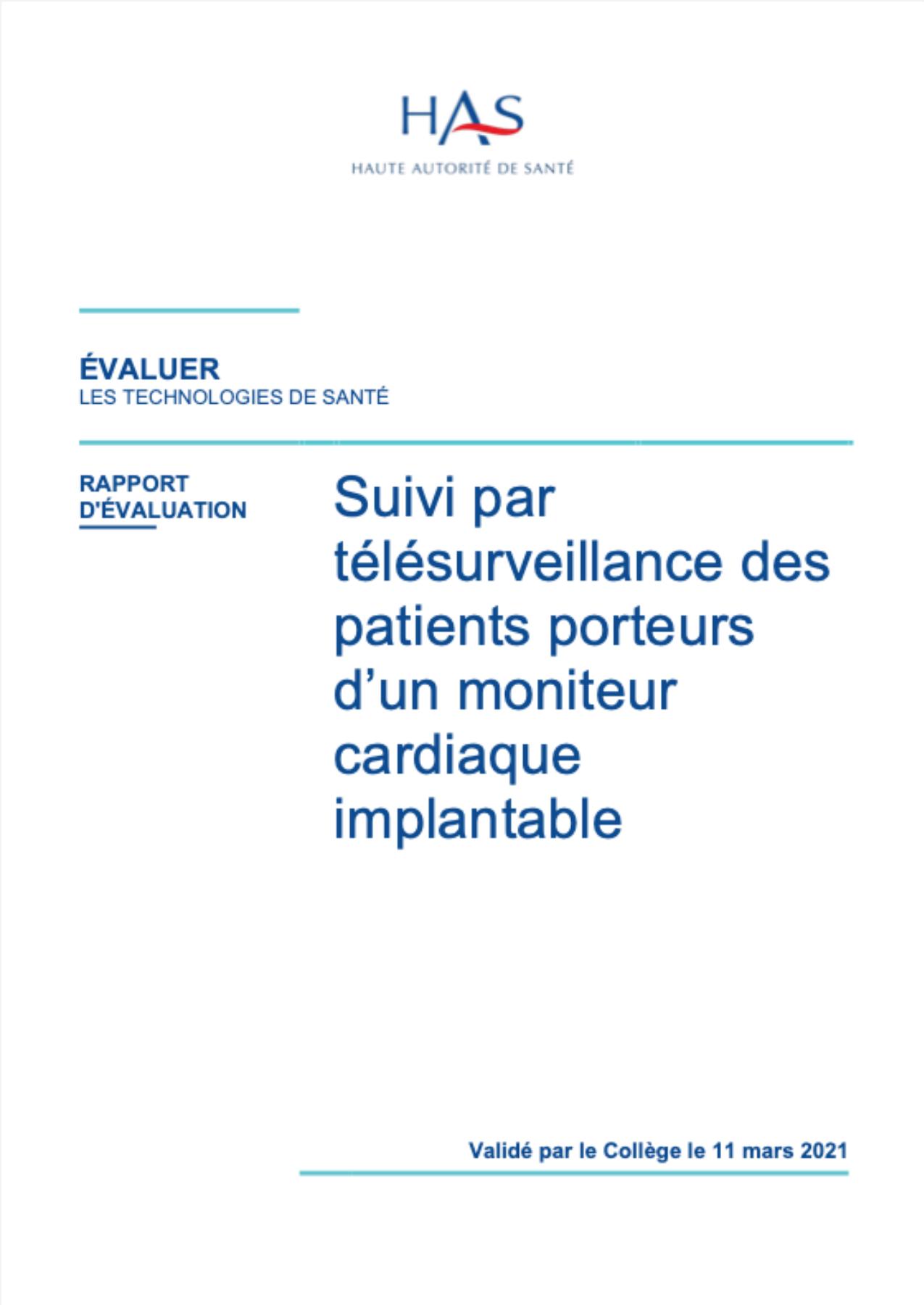 Suivi par télésurveillance des patients porteurs d'un moniteur cardiaque implantable