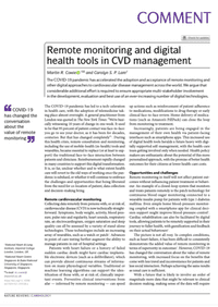 Remote monitoring and digital health tools in CVD management