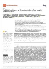 Artificial Intelligence in Dermatopathology: New Insights and Perspectives